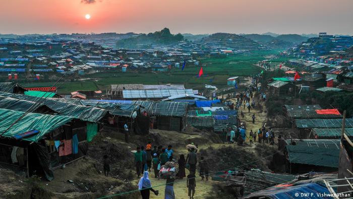 Bangladesch | Rohingya-Flüchtlingslager rund um Cox's Bazar NEU (DW/ P. Vishwanathan)