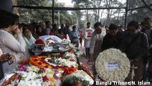 Bangladesch Beisetzung Anwar Hossain