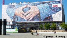 Deutschland   Wahlwerbung CDU