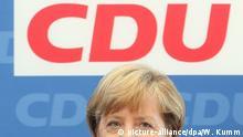 Deutschland   Angela Merkel   CDU Präsidiumssitzung