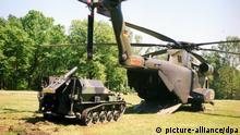 Deutschland Waffenexporte Rheinmetall DeTec AG - Luftverladbarer Wiesel