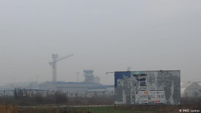 Bosnien und Herzegowina Smog in Sarajevo