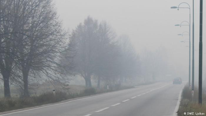 Bosnien und Herzegowina Smog in Sarajevo (DW/Z. Ljubas)