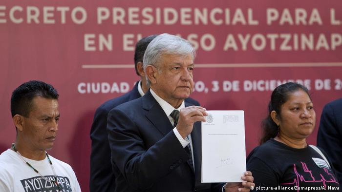 Lopez Obrador Pressekonerenz Mexiko