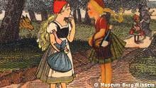 Katalog: Die Rotkäpchen-Sammlung Autoren: Elisabeth und Richard Waldmann Herausgeber: Museum Burg Wissem