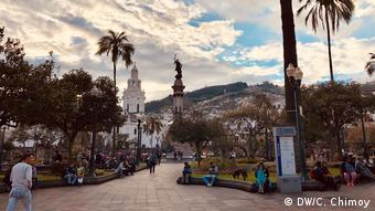 La Plaza de la Independencia o Plaza Grande es la hermosa plaza principal de la ciudad de Quito.