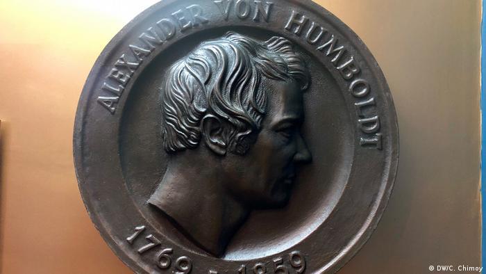 Esta reliquia es una réplica de la moneda de Alexander von Humboldt.