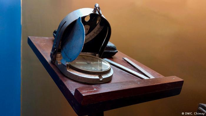 Esta es una réplica de la brújula que utilizó Alexander von Humboldt.