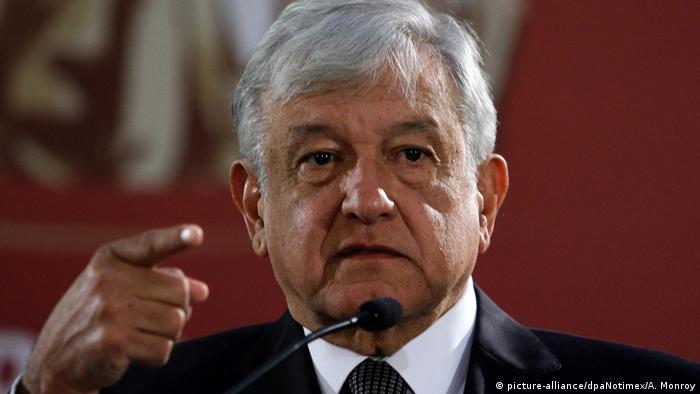 López Obrador durante una de sus conferencias de prensa matutinas