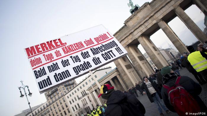 Deutschland | Rechte Kundgebung gegen den Migrationspakt in Berlin