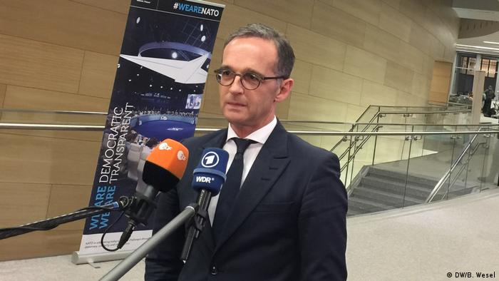 Heiko Maas Nato Gipfel in Brüssel (DW/B. Wesel)