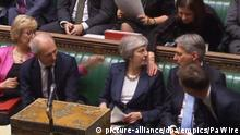 Großbritannien | Theresa May im House of Commons