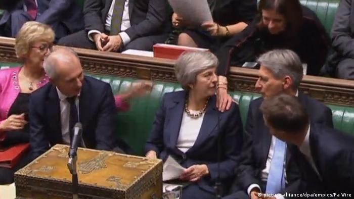Theresa May in the House of Commons (picture-alliance/dpa/empics/Pa Wire)