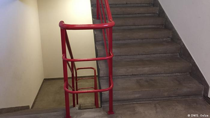 A stairwell at the Bauhaus Dessau (DW/S. Oelze)