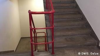 Treppenhaus im Prellerhaus