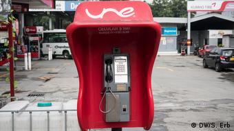 Telefonzelle in Medellín