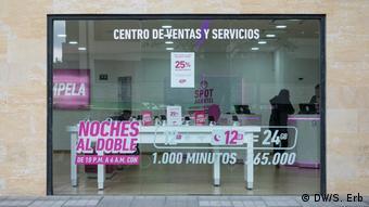 Handy-Geschäft in Bogotá