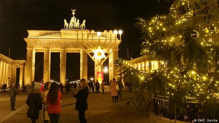 Christmas tree in Berlin