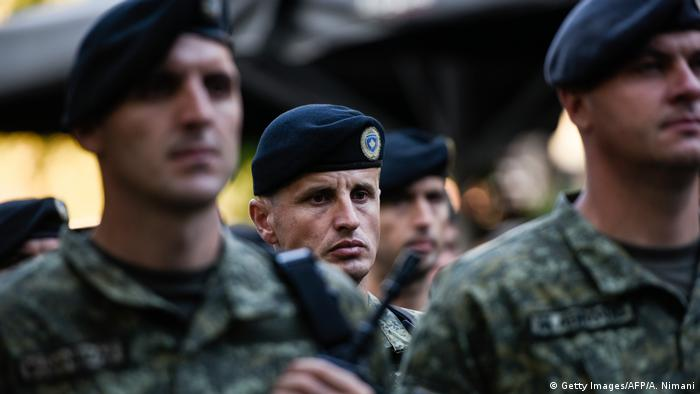 Kosovo Security Forces KSF (Getty Images/AFP/A. Nimani)