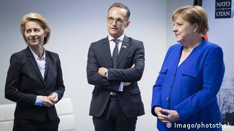 von der Leyen & Maas & Merkel (Imago/photothek)