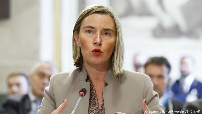 Federica Mogherini (picture-alliance/Photoshot/S. Di Nolfi)