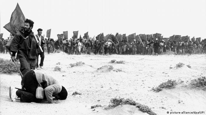 Wüstenmarsch der Marokkaner in die Westsahara