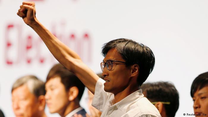 Hongkong 2016 | Eddie Chu Hoi-dick, Aktivist und Rechtsanwalt (Reuters/B. Yip)