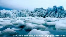Grönland Gletscher am Schmelzen