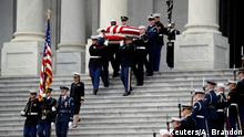 USA Begräbnis George H.W. Bush Senior l Transport vom US-Capitol zur Trauerfeier