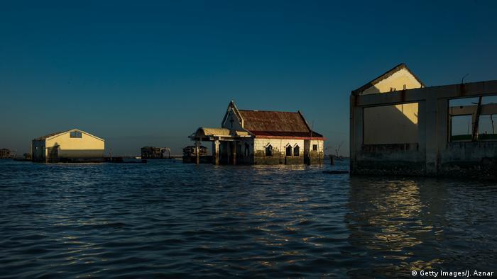 Global Ideas Philippinen Provinz Bulacan Anstieg Meeresspiegel