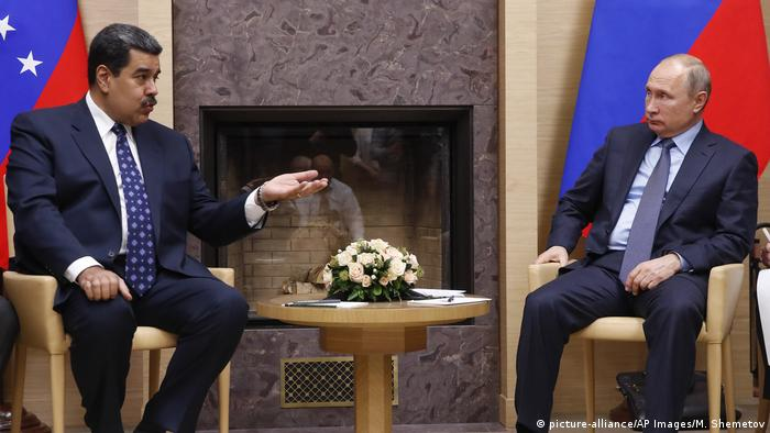 Maduro y Putin, en su último encuentro en diciembre del año 2018.