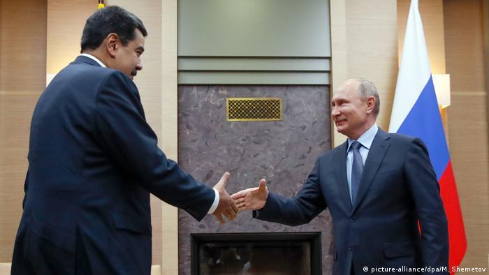 Venezuela Präsident Nicolas Maduro trifft russischen Präsident Wladimir Putin