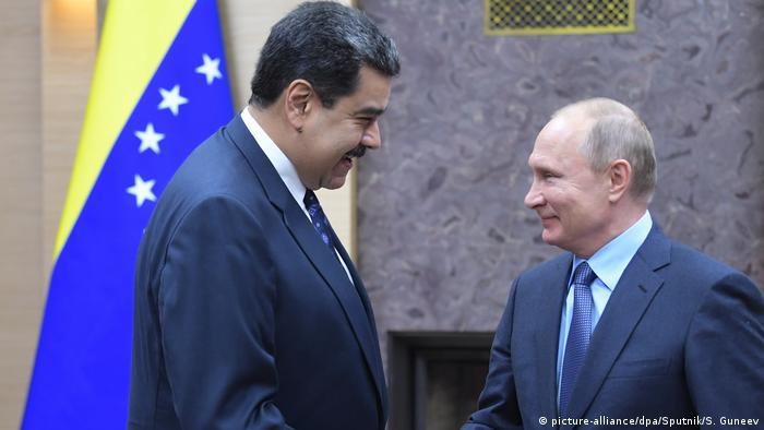 Venezuela y Rusia anuncian ejercicios militares en conjunto | Destacados | DW | 10.12.2018