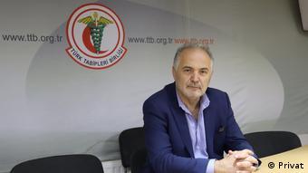 Türk Tabipleri Birliği (TTB) Başkanı Sinan Adıyaman