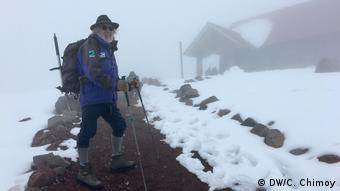 Marco Cruz, alpinista.