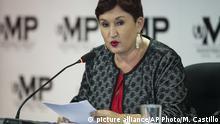 Deutschland Alternative Nobelpreise -Thelma Aldana, Generalstaatsanwältin von Guatemala