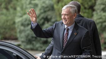 L'Allemand Horst Köhler, envoyé spécial de l'ONU au Sahara occidental, arrive à Genève