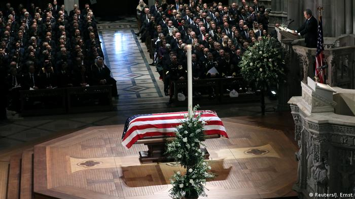 Memorial for George H.W. Bush at the National Cathedral (Reuters/J. Ernst)