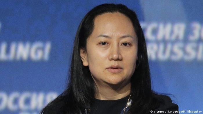 Huawei CFO Meng Wanzhou (picture-alliance/dpa/M. Shipenkov)