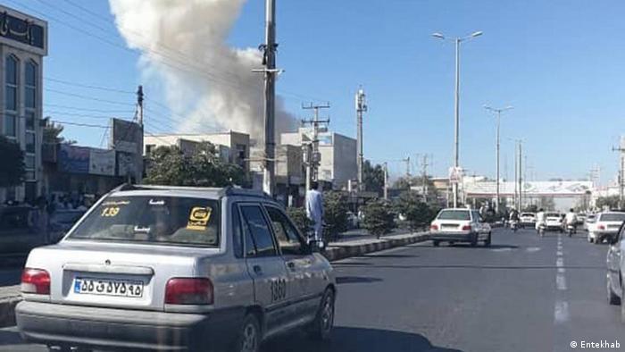 Iran Selbstmord Attentat in Tschabahr (Entekhab)
