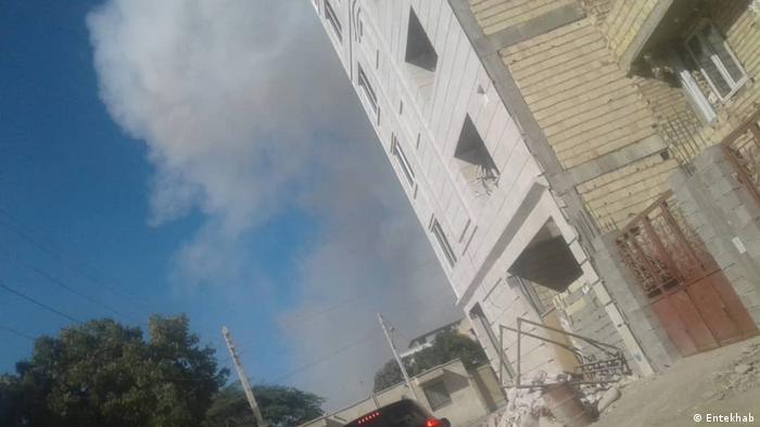 Iran Selbstmord Attentat in Tschabahr