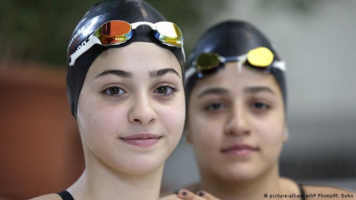 Yusra i Sada Mardini