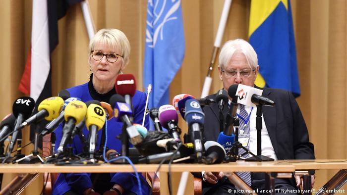 Schweden Stockholm Friedensgespräche Jemen