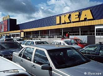 An Ikea outlet in Gothenburg.
