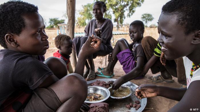 Südsudan WFP Familie (WFP)