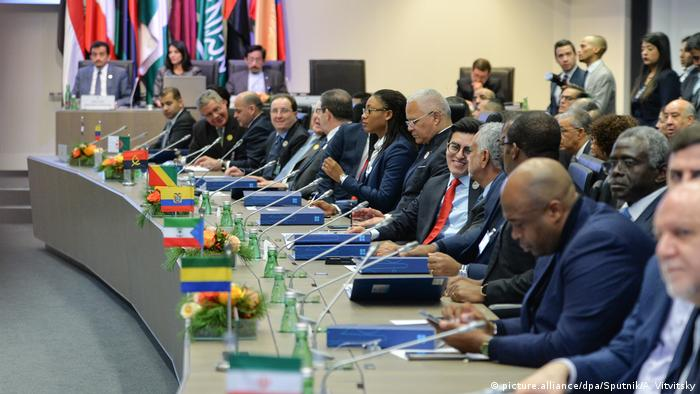 OPEC meeting in session in Vienna, Austria