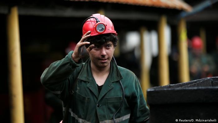 Miner David Tsnobiladze