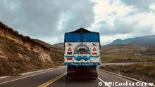 Reise von Frau Chimoy wie Humboldt durch Südamerika