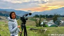 Reise von Frau Chimoy wie Humboldt durch Südamerika (DW/Carolina Chimoy)