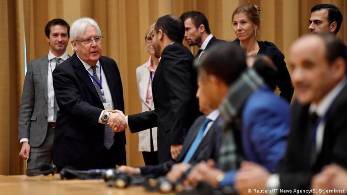 Schweden Friedensgespräche für Jemen starten vor Drohkulisse